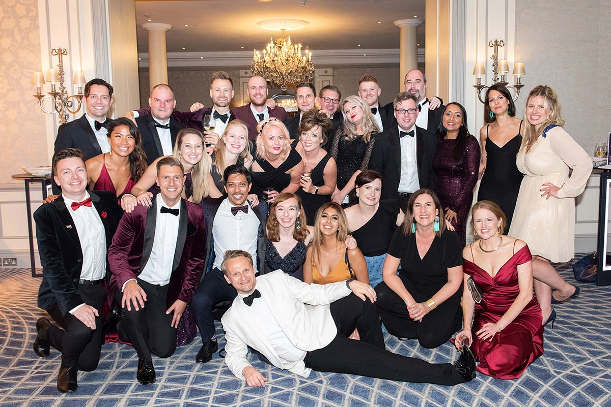TTG Team shot Awards 2019