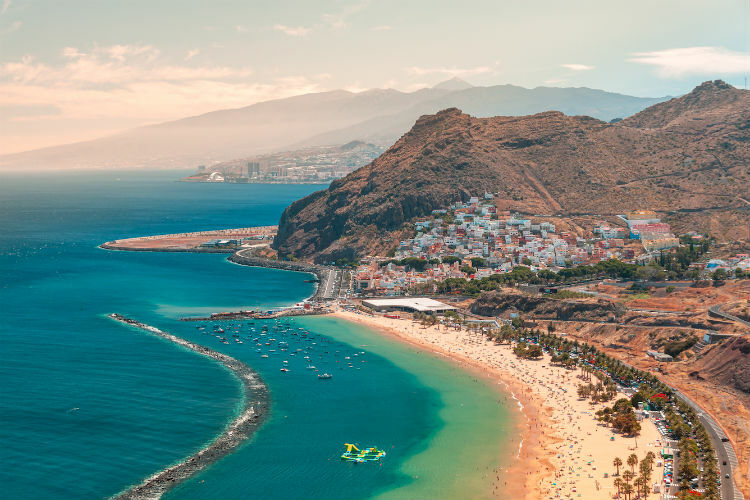 Tenerife is one island hit by the UK government's decision