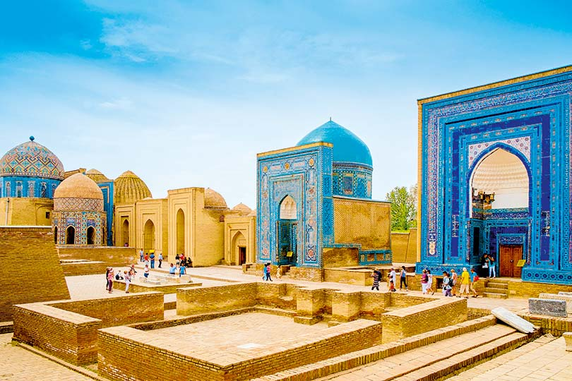 Saga says Uzbekistan, a key halt on the famous Silk Road trading route, is proving particularly popular