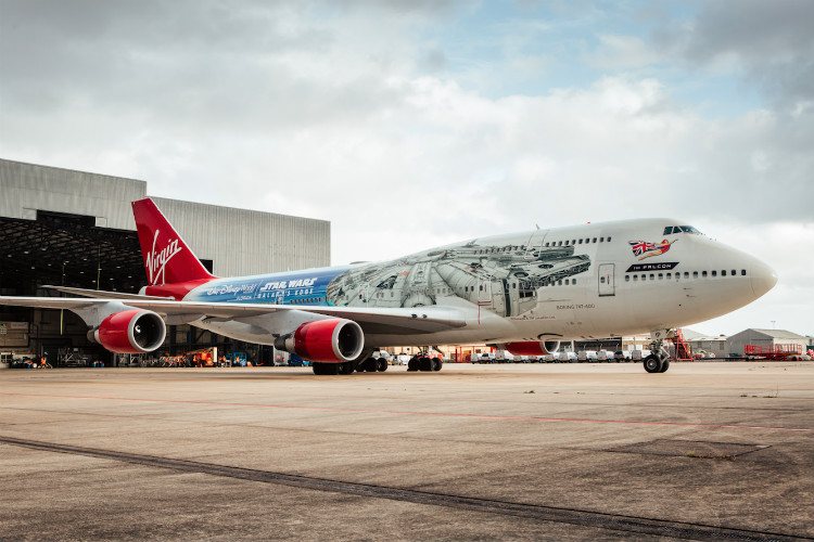 Virgin Atlantic reveals incredible Star Wars livery
