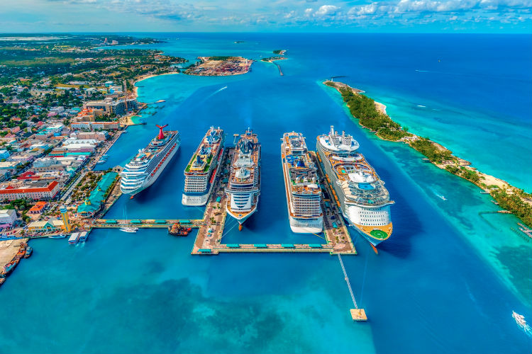 Carnival is resuming calls to the Bahamas, including Freeport (Credit: Fernando Jorge)