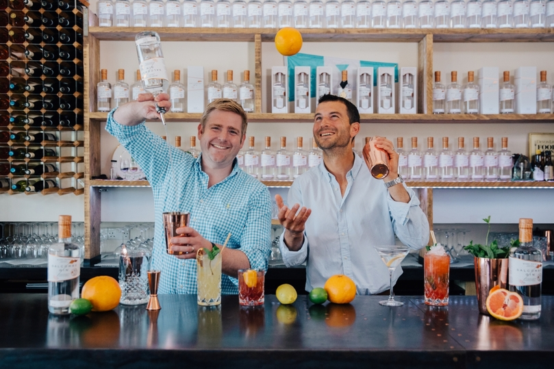 Salcombe Gin has partnered with P&O Cruises to create a distillery onboard Iona
