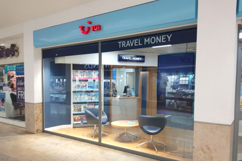 A TUI shop in Taunton. TUI has turned down a plea for recognition from TSSA.