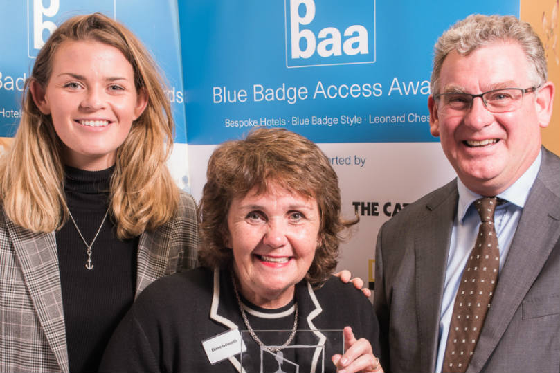 Cottages in the Dales won the People's Choice award at the bash