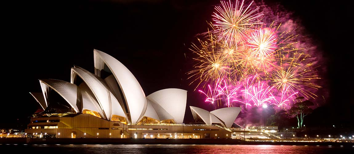 Clients can see in the New Year with a bang by watching the fireworks display at Sydney Harbour