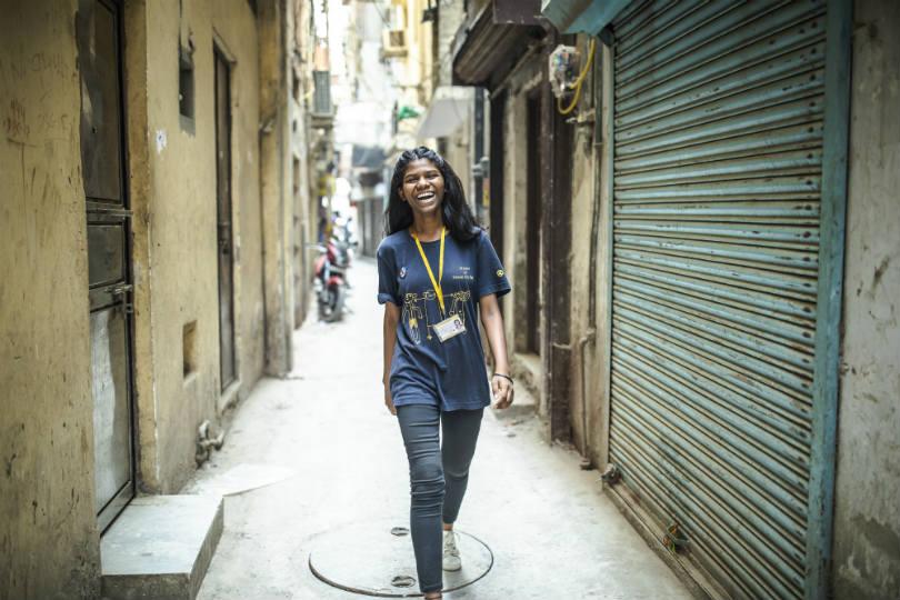 Salaam Baalak Trust City Walk Tour guide in New Delhi