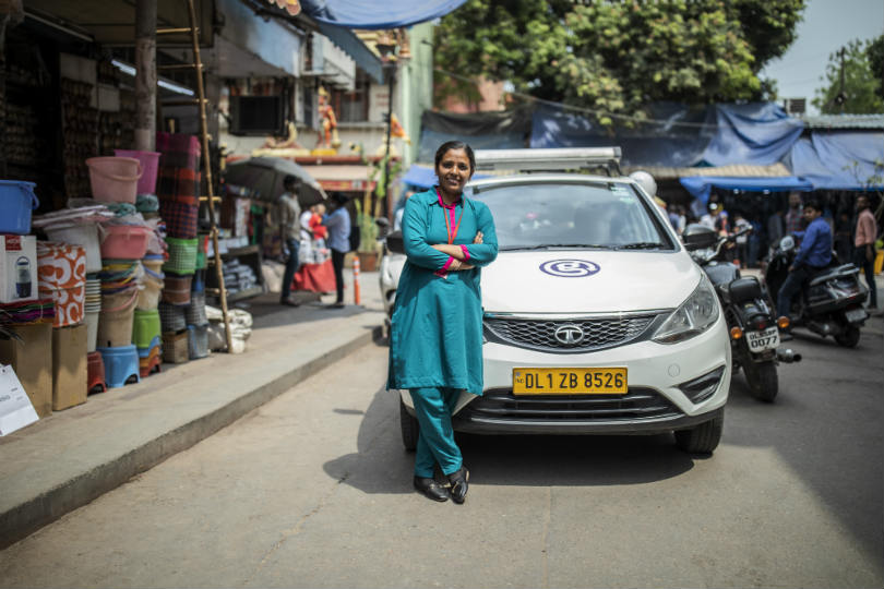Women on Wheels in Delhi is one of G Adventures' worldwide projects