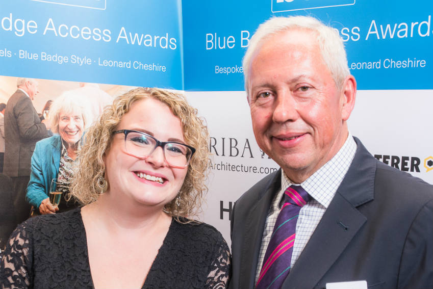 Accessible hotels and destinations honoured at inaugural Blue Badge awards