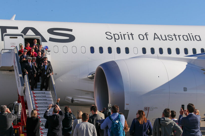 Qantas completes New York-Sydney non-stop test flight