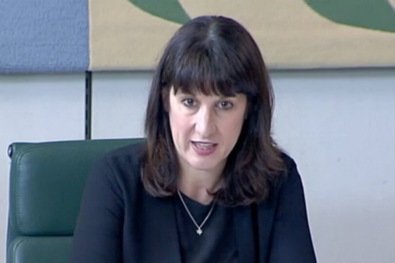 MP Rachel Reeves chaired the committee (Image: Parliament.tv)
