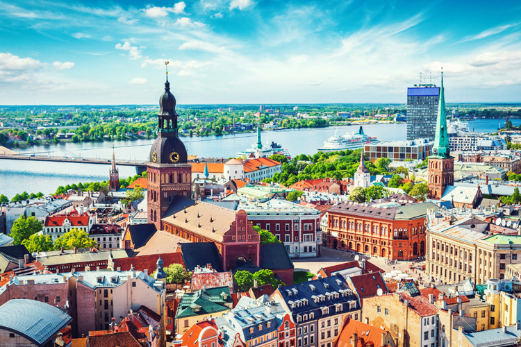 The new service from Manchester to Riga will begin next spring