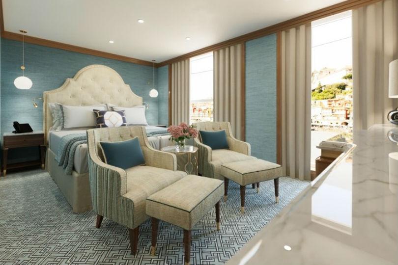 A suite on Uniworld's Sao Gabriel