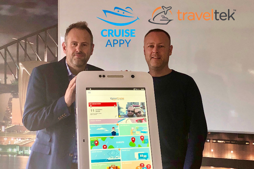 Traveltek partners with CruiseAppy