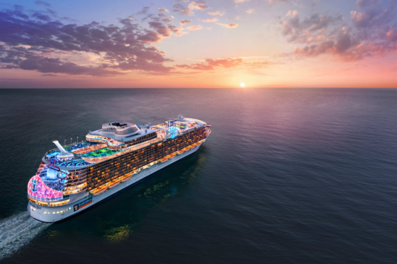 Royal Caribbean names fifth Oasis-class ship