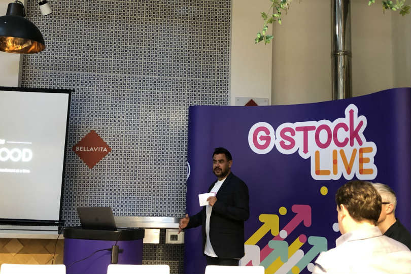 Brian Young at G Stock Live