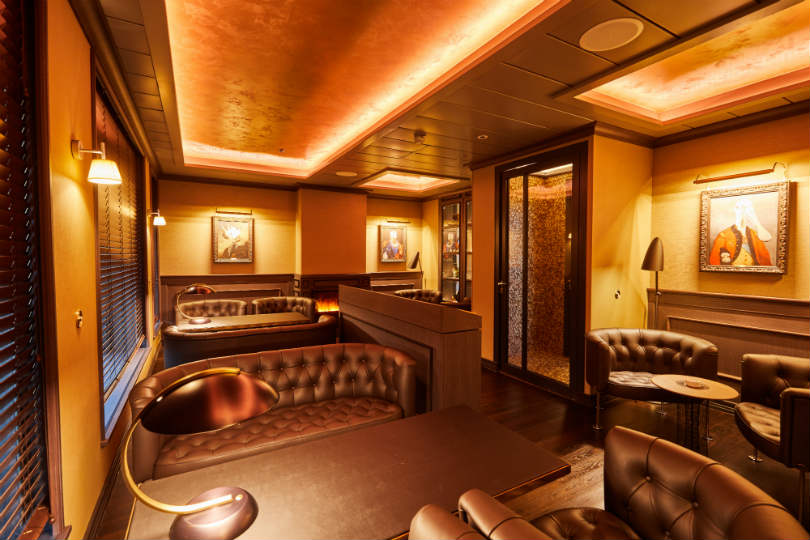 The Invisible Lounge onboard Hanseatic Inspiration