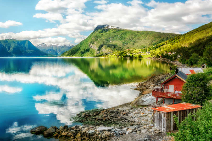 Railbookers organises holidays to areas such as the Norwegian fjords