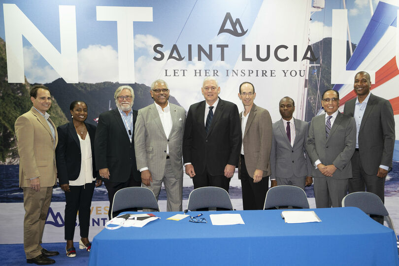 Carnival and Royal to build new St Lucia cruise port