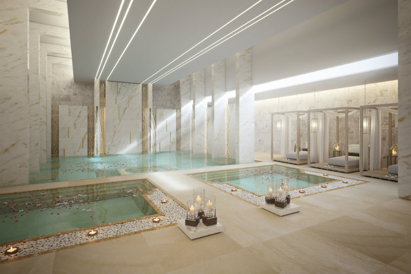 Water Therapy Suite at the new Zulal Wellness Resort