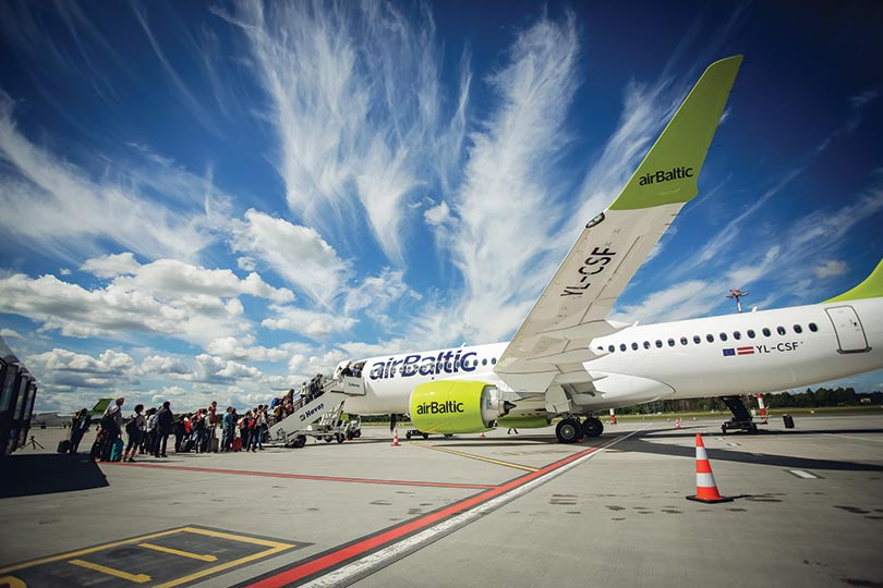 WTM London 2019: airBaltic to support Latvia's visitor numbers