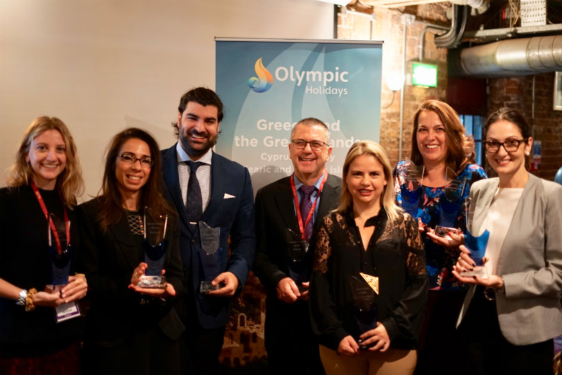 The inaugural Olympic Holidays' Awards winners