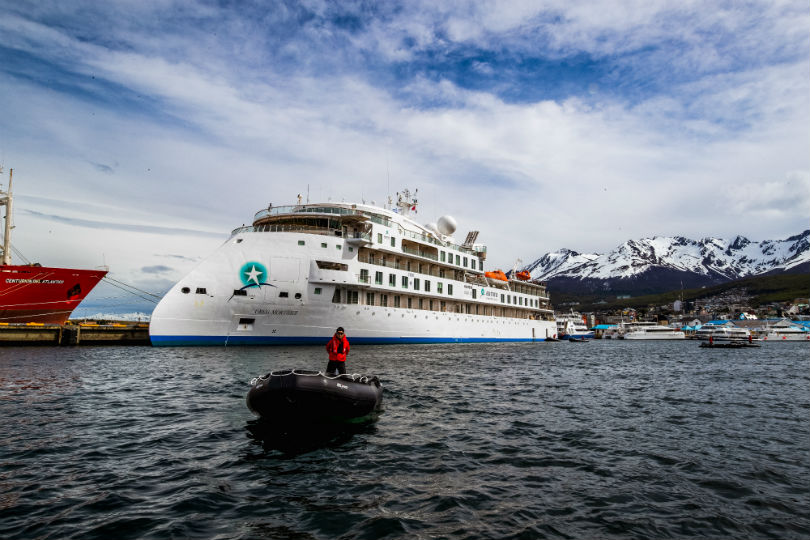 Aurora Expeditions christens first expedition ship
