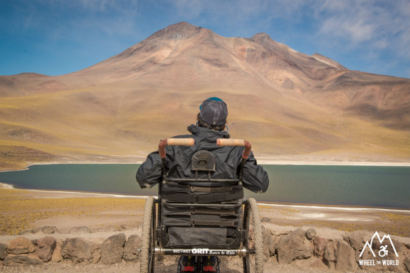 Exploring the globe in a wheelchair with Wheel the World