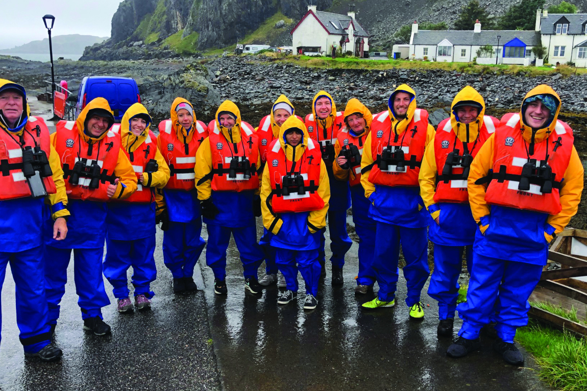 Aurora Expeditions hosted agents in Oban