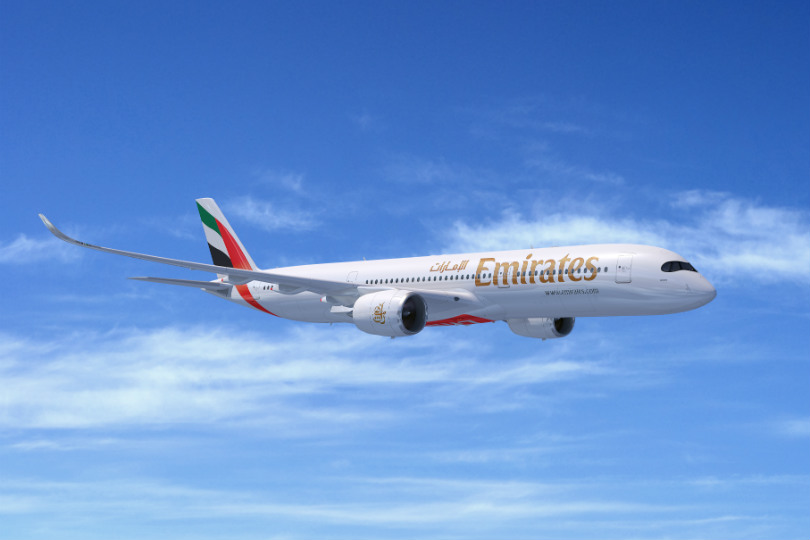 Emirates places $16 billion Airbus A350 order