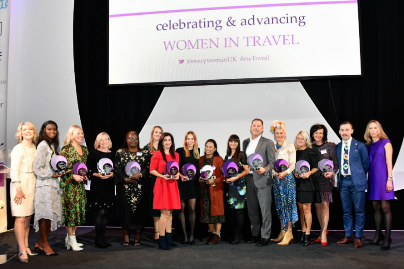 Leading female talent honoured at 2019 everywoman in Travel Awards