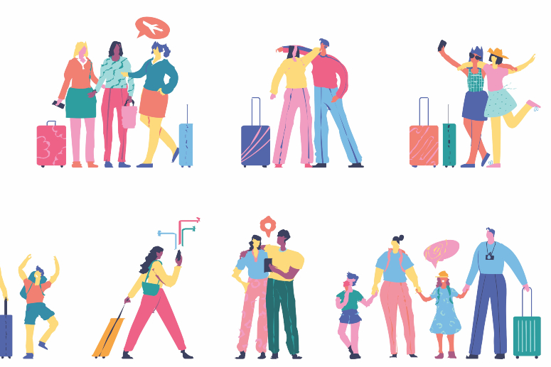 How to find new clients on fam trips and on holiday