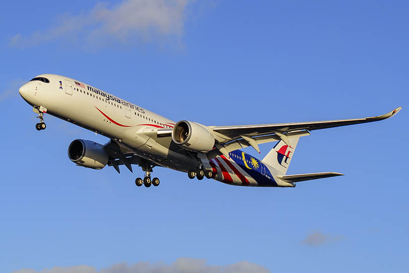 Earn up to £100 per booking with Malaysia Airlines