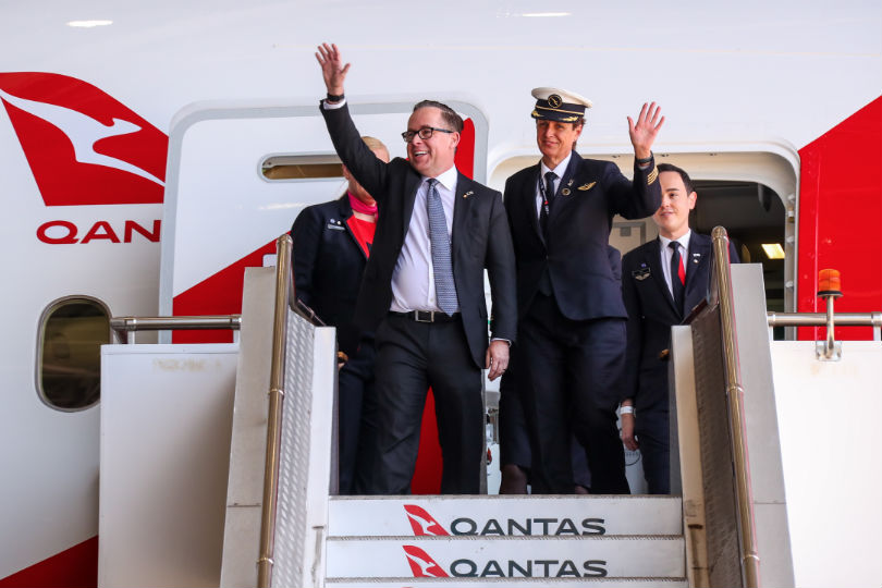 Qantas completes first direct London-Sydney 'research flight'