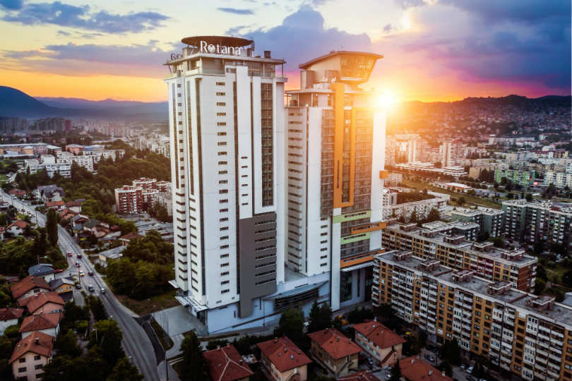 The Bosmal Arjaan is Rotana's first property in Bosnia and Herzegovina