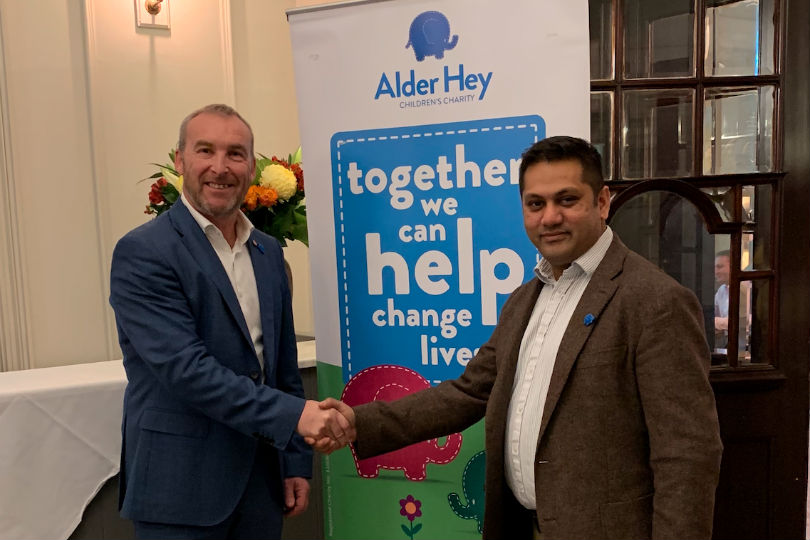 Shearings parent aiming to raise £150k for Alder Hey