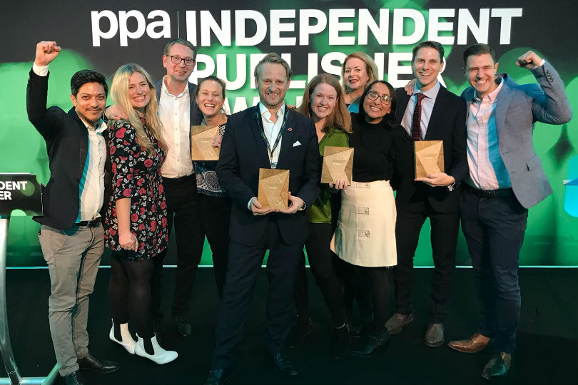 TTG Media named independent publisher of the year