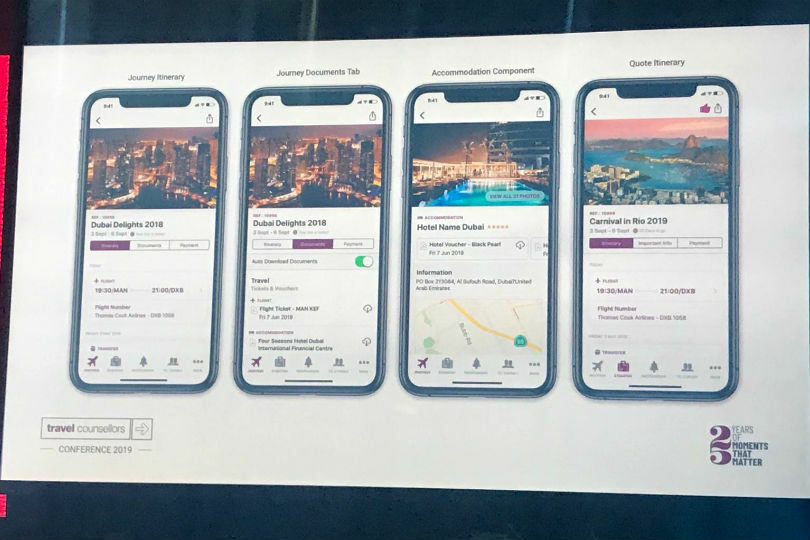 Travel Counsellors' app