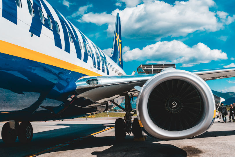 Ryanair has cut October capacity to 40% of October 2019 levels (Credit: Lucas Davies / Unsplash)