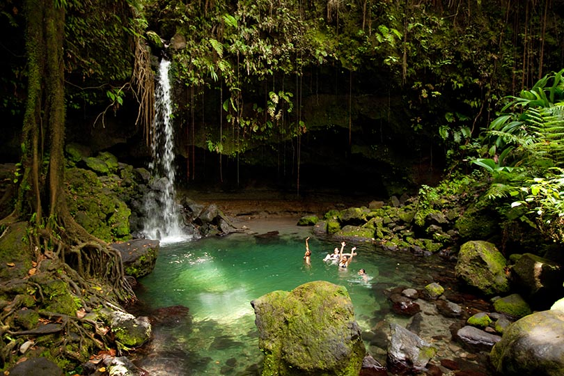 "1. Dominica is known as ""The Nature Island"""