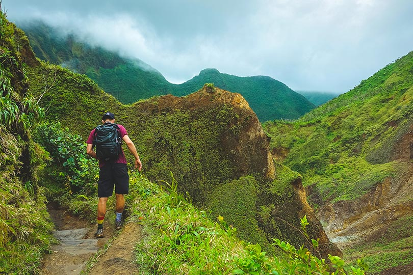 2. It's one of the best hiking destinations in the Caribbean