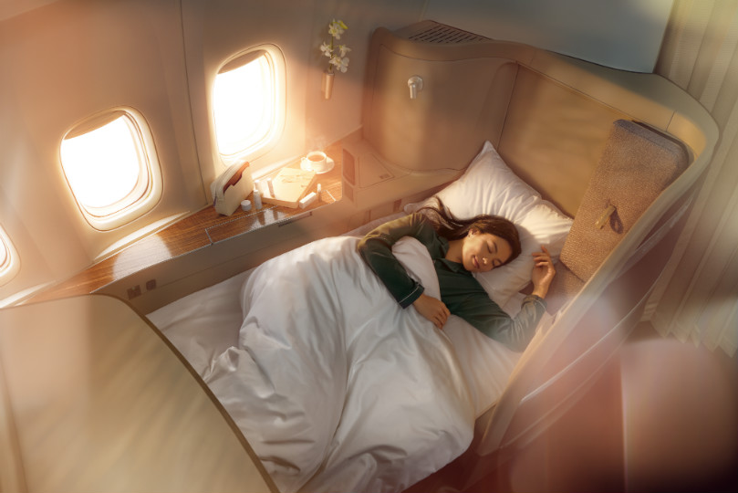Cathay Pacific has enhanced its bedding options for first and business class