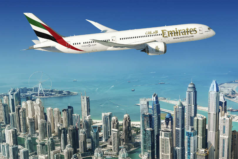 Emirates orders 30 Boeing 787-9 Dreamliners