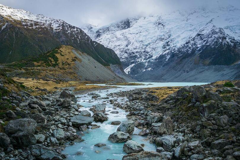 Pictured: Hooker Lake, New Zealand (Credit: Danny Postma/Unsplash)