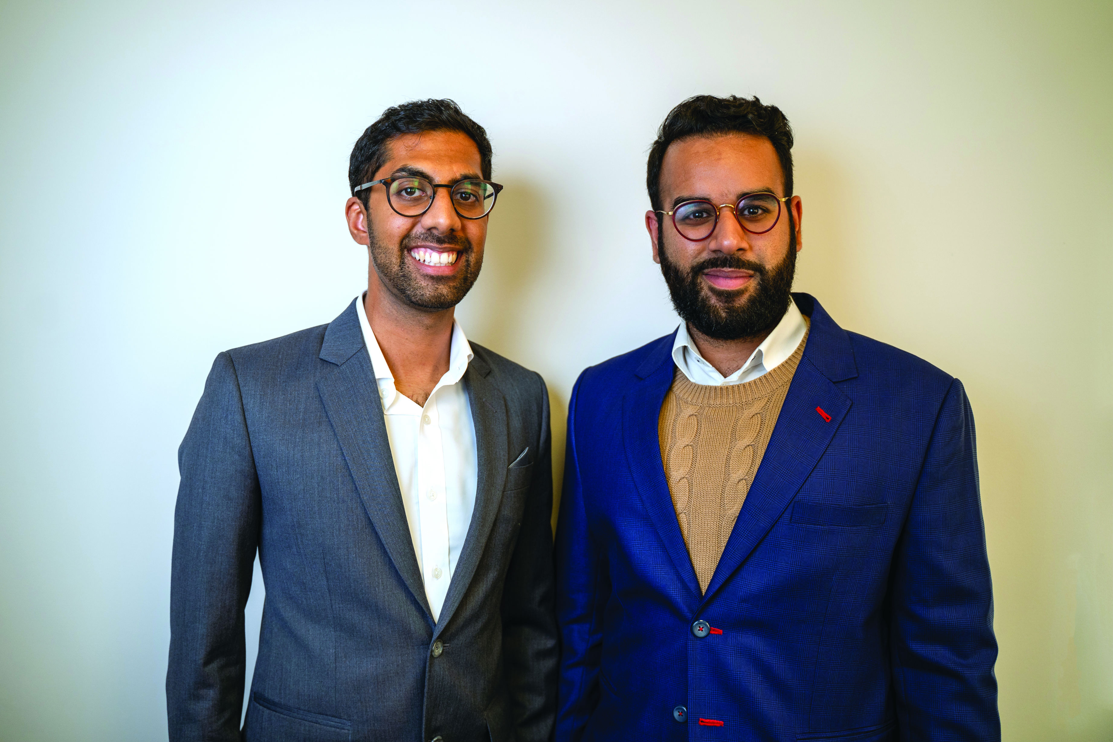 Major's managing director Qasim Gulamhusein (left) and sales and marketing director Mohammed Rashid