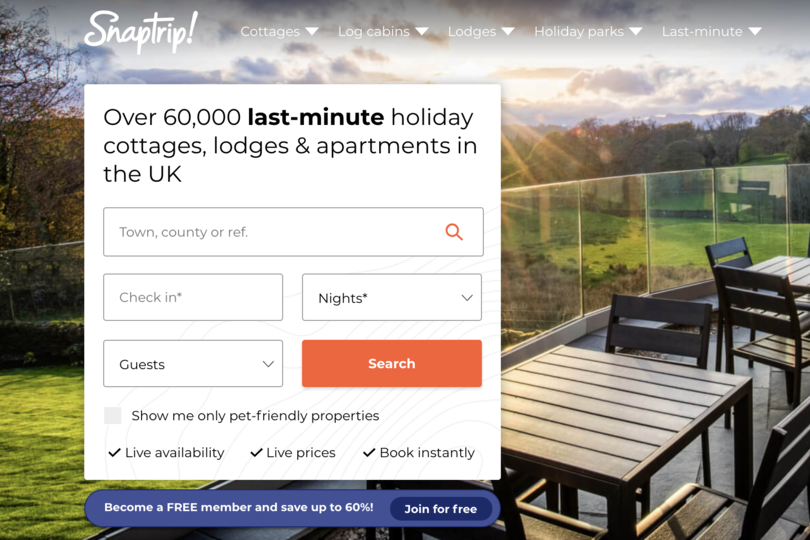 LateRooms domain acquired by Snaptrip parent