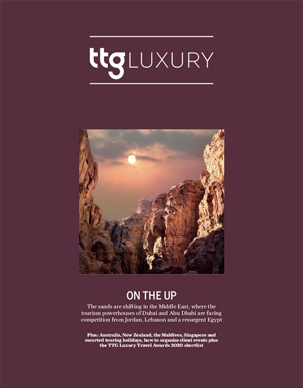 TTG Luxury cover