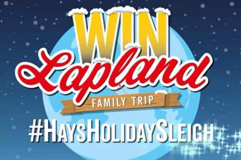 The star prize is a family trip to visit Santa in Lapland