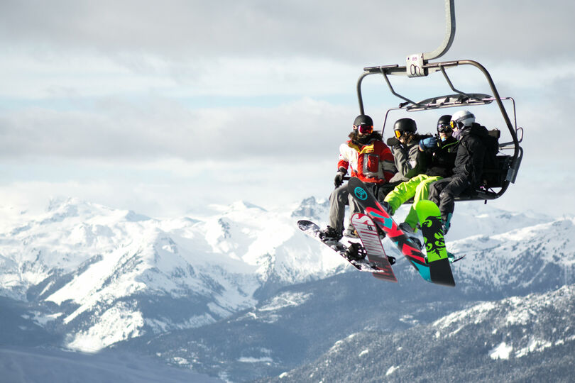 Attending NJT's previous ski trip to Whistler bagged one member a £120,000 enquiry