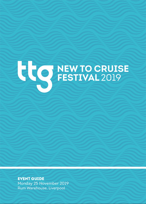 TTG's New to Cruise Festival 2019 brochure