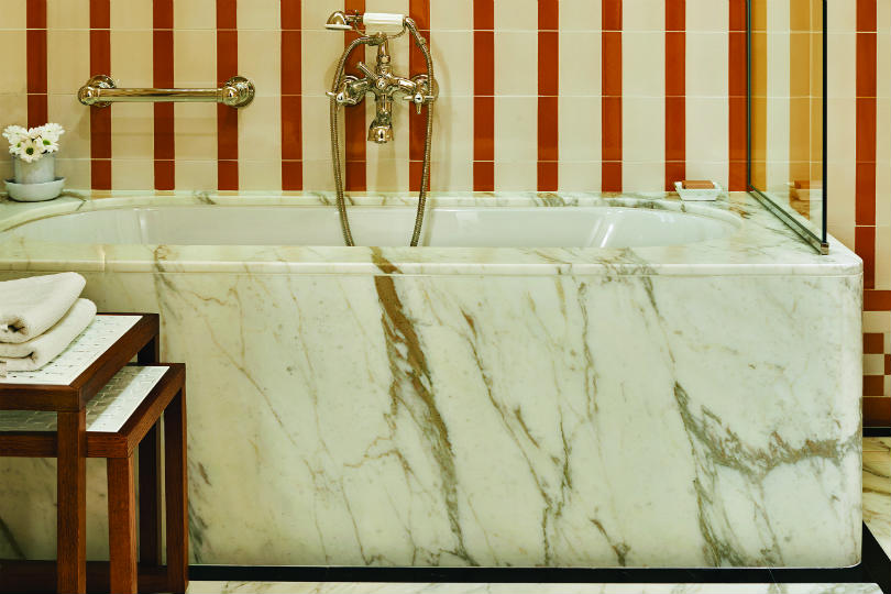 New bathroom in the Belmond Splendido Mare
